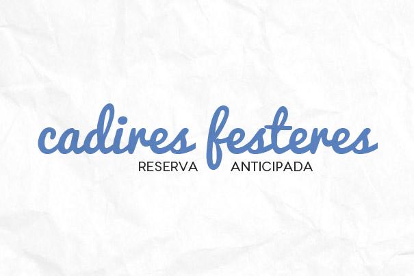 Reserva de sillas festeras para los desfiles de Moros y Cristianos de Paterna