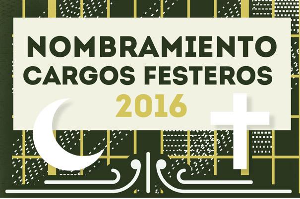 Nombramiento de los cargos festeros de Intercomparsas Paterna 2016